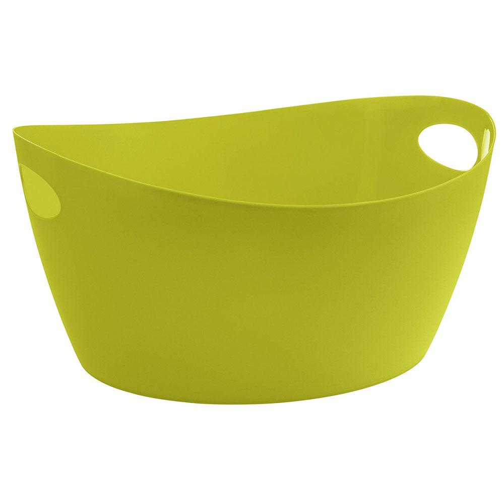 Škopek do koupelny BOTTICHELLI, velikost L - olivová barva, KOZIOL