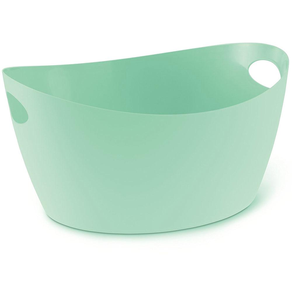 Škopek do koupelny BOTTICHELLI, velikost L - barva mentolová, KOZIOL