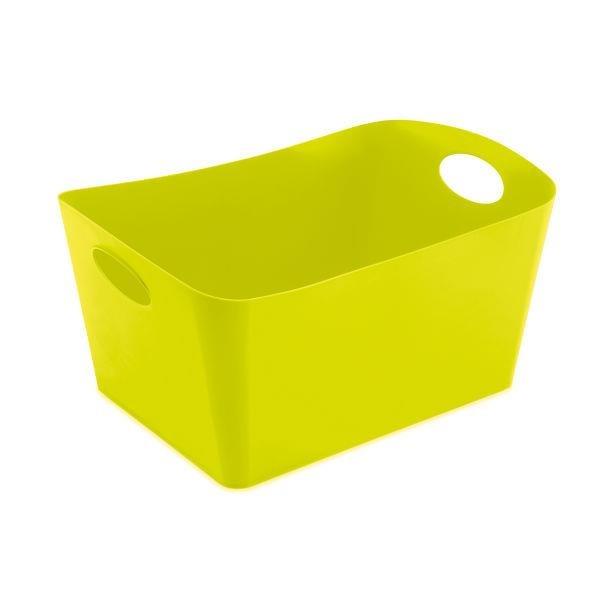 Škopek do koupelny BOXXX, kontejner, velikost L - barva olivová, KOZIOL