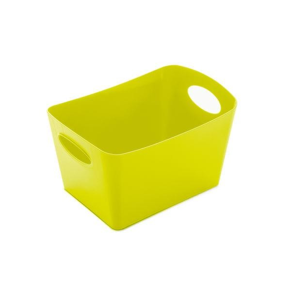 Škopek do koupelny BOXXX, kontejner, velikost S - barva olivová, KOZIOL
