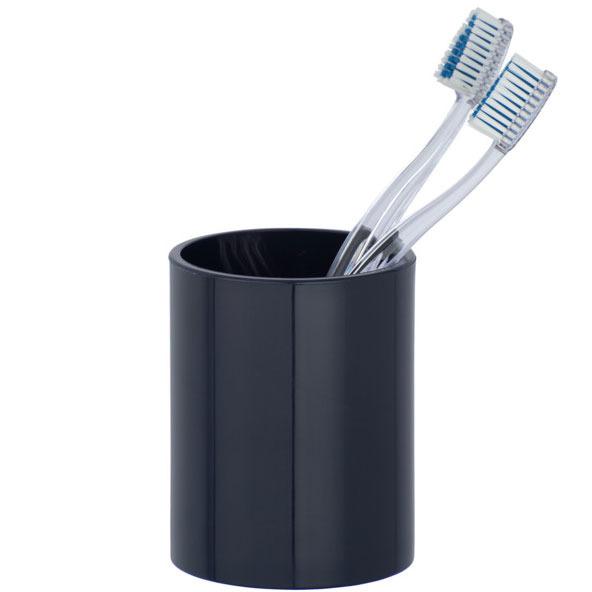 Nádobka na kartáček na zuby INCA DARK BLUE, WENKO