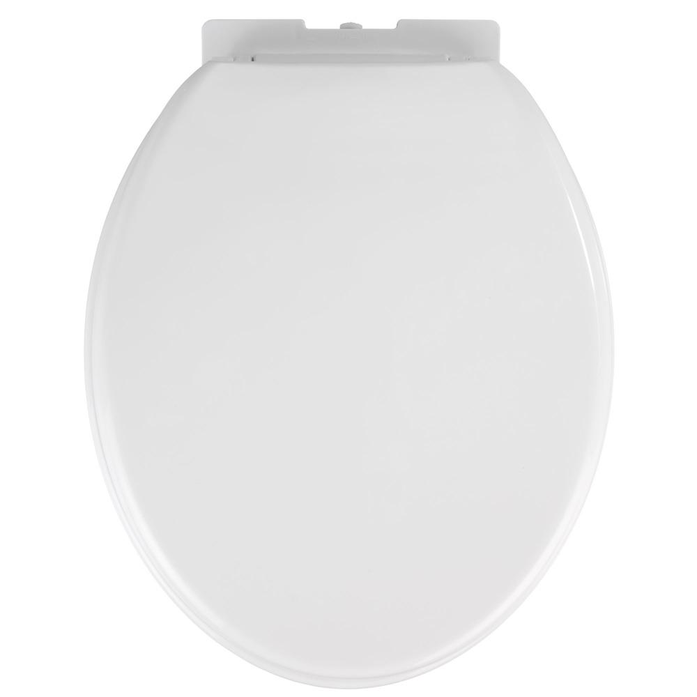 WC prkénko OPTIMA - Thermoplast, bílá barva, WENKO