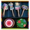 Sada pro zdobení muffinů, mini-cupcakes, 48 kusů - Birthday Party