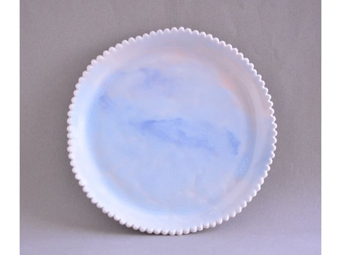 Servírovací talíř 24cm - obláčkový