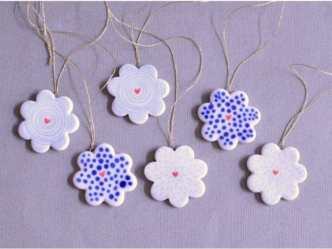 Ozdoba - Set květinek