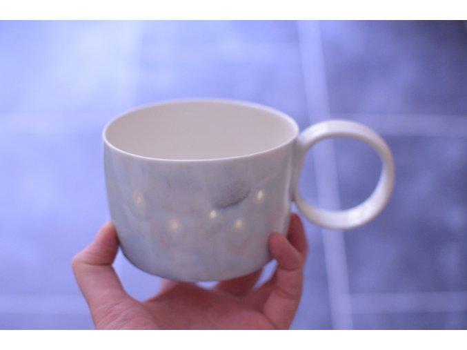 Porcelánový 350 ml - Mraky a kapky