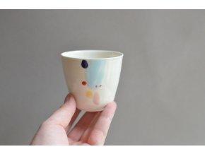Porcelánový pohárek Barvy 150 ml - č.2