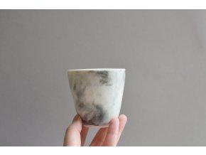 Porcelánový pohárek 150 ml - Bouřka