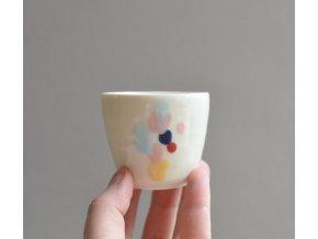 Porcelánový pohárek Barvy 75 ml - č.1