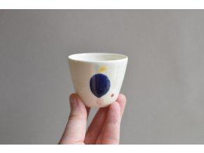 Porcelánový pohárek Barvy 75 ml - č.2