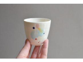 Porcelánový pohárek Barvy 125 ml - č.1