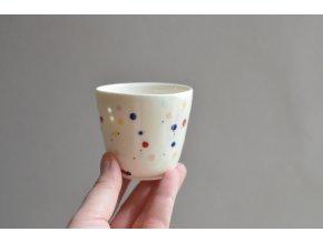 Porcelánový pohárek Barvy 125 ml - č.2