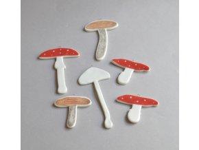 Ozdoba - Set houbiček
