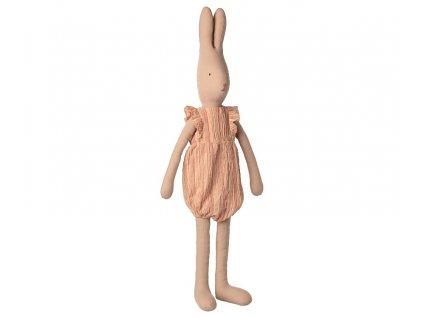 Králičí kluk v overalu  Rabbit size 5, Striped jumpsuit