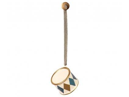 ornament drum gold