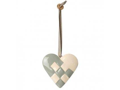 maileg ophaeng ornament hjerte heart blue blaa 14 0516 02 p