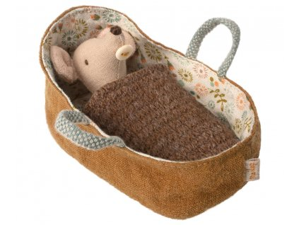 baby in carrycot