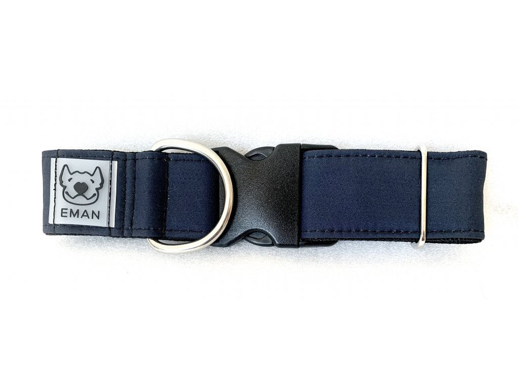 Obojek - klasik černá (collar classic black) 4cm