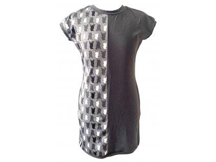 šaty - bull-maskáč šedá (dress bull-camouflage grey)