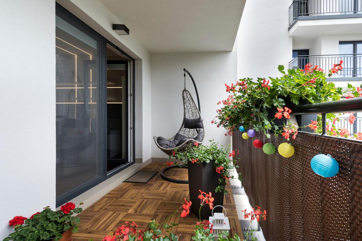 Ratanové zástěny na balkon
