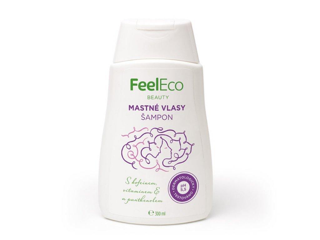 FEEL ECO Vlasový šampon na mastné vlasy 300 ml