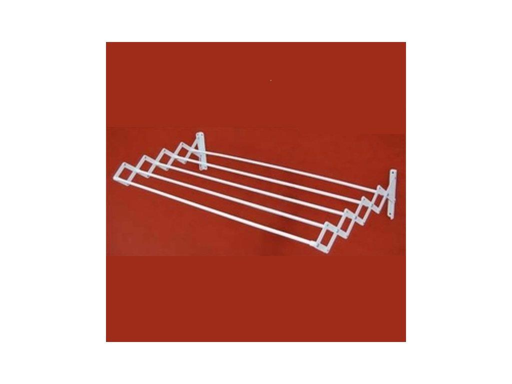 Sušák harmonikový kovový PRAKTIK METAL 90 cm