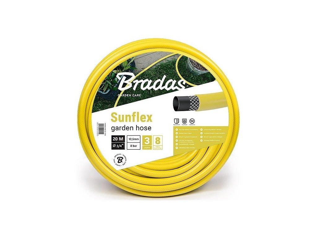 """Zahradní hadice SUNFLEX 3/4"""" - délka 20m"""