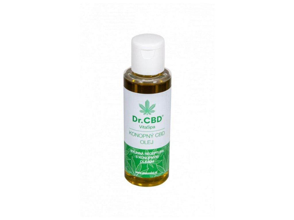 VitaSpa konopný CBD olej 100 ml