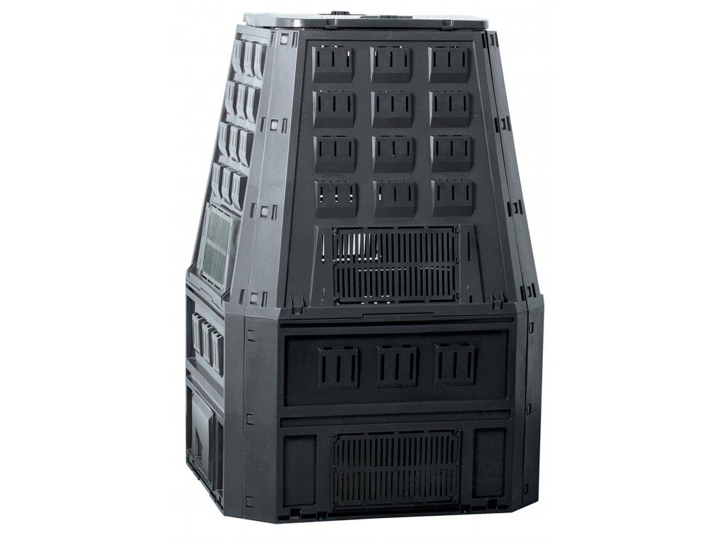 Kompostér JRK 800 L HOBBY - barva černá