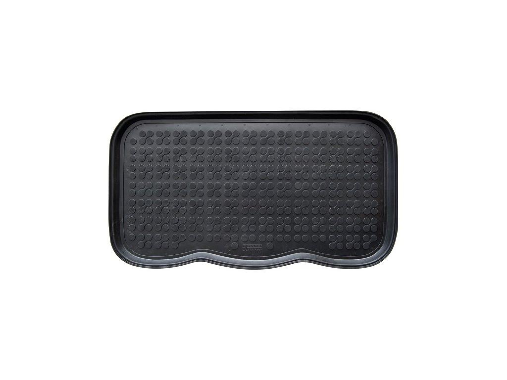 Odkapávač na boty, pružný plast, 72 x 40 cm - barva černá