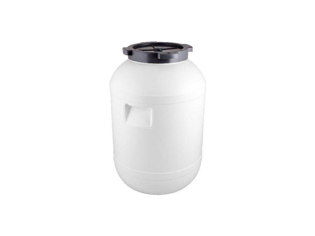 Plastový sud s víkem 65 litrů, Sud na zelí 65 L