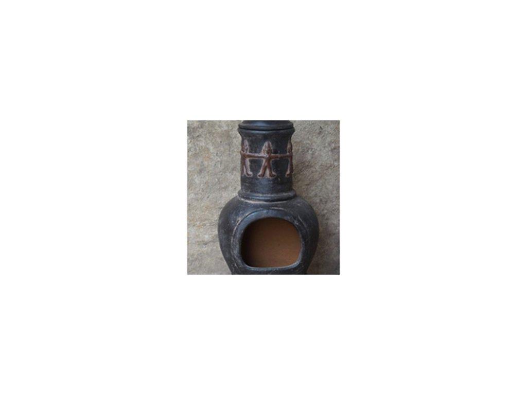 Aztécká pec MANUELLA (hnědá) 46/106 AMIGOS