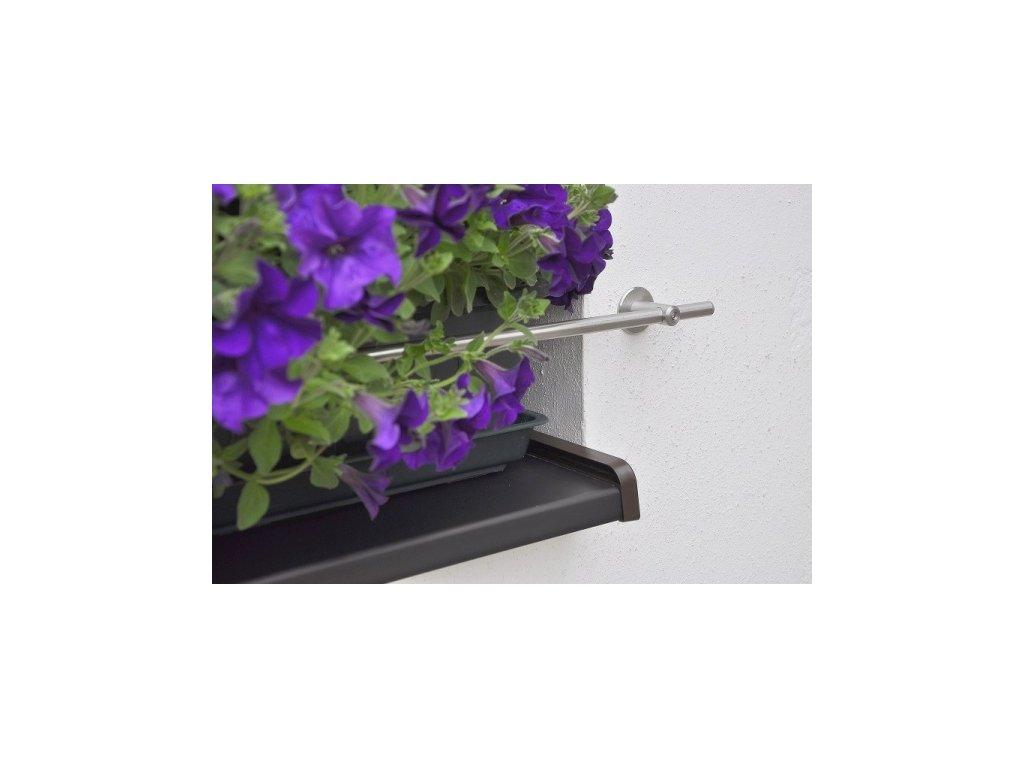 Zábrana truhlíku na fasádu, nerez, průměr 12 mm, délka 1200 mm