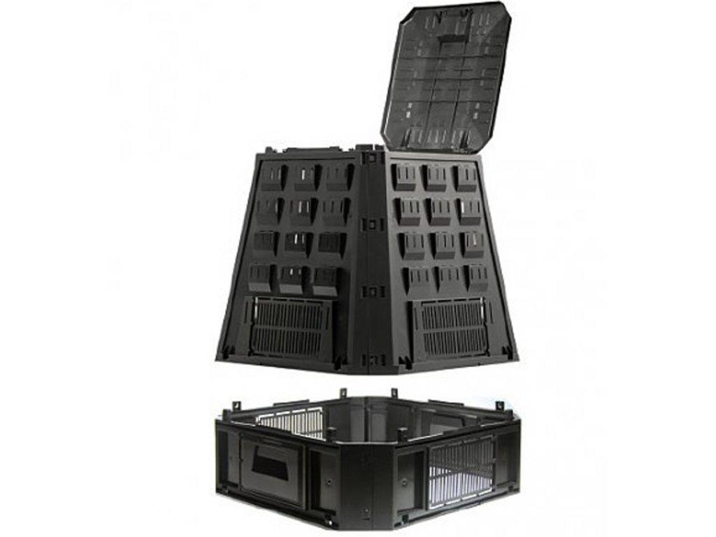 Kompostér Prosperplast 630 L černý