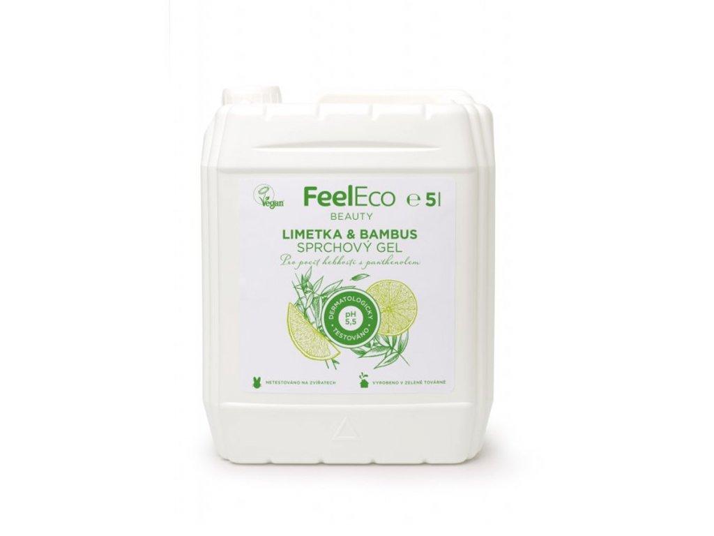 FEEL ECO Sprchový gel - Limetka & Bambus 5 l