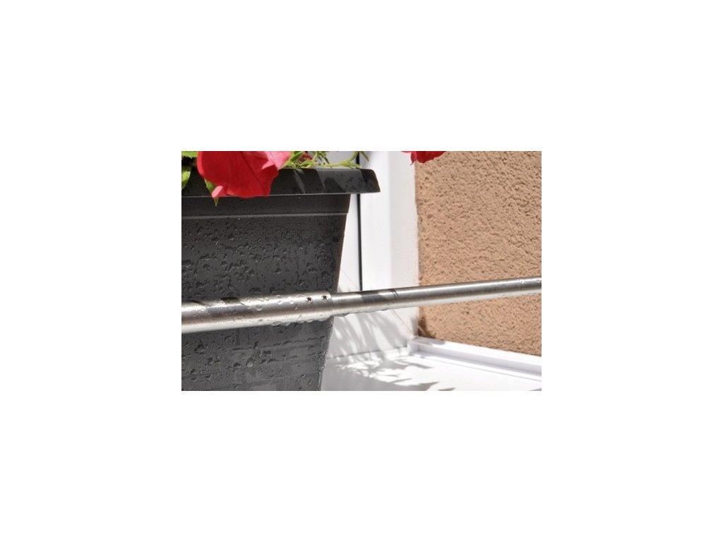 Zábrana truhlíku rozpěrná - nastavitelná, nerez, délka 600-1000 mm
