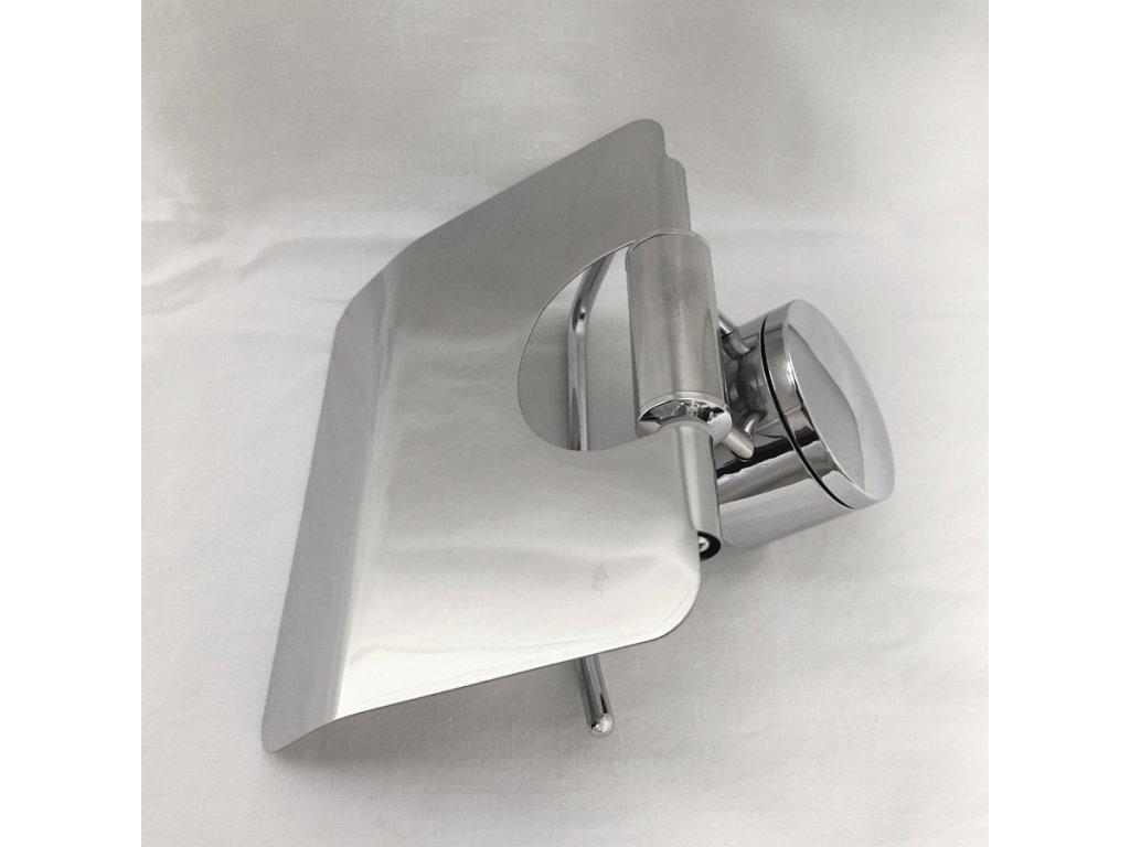 Držák na toaletní papír - chrom
