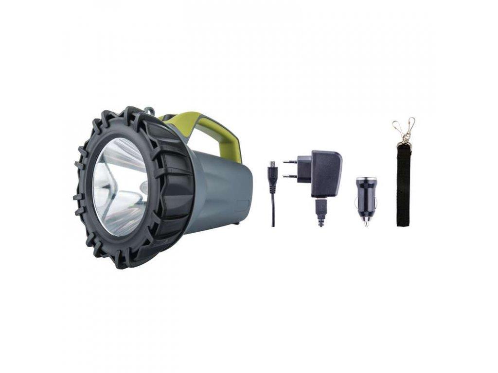 Nabíjecí svítilna LED P4523, 10 W CREE