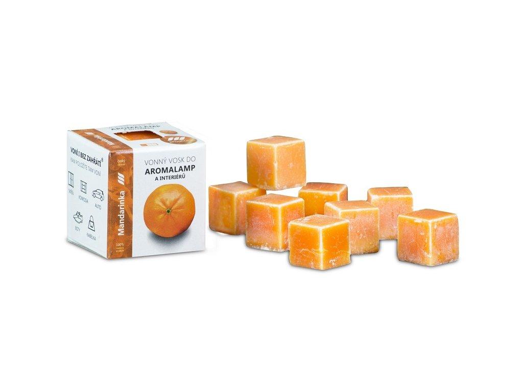 Vonný vosk - MANDARINKA 30 g, 8 kostiček