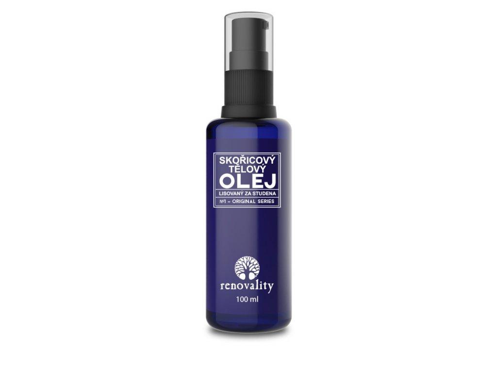 RENOVALITY Skořicový tělový olej 100 ml