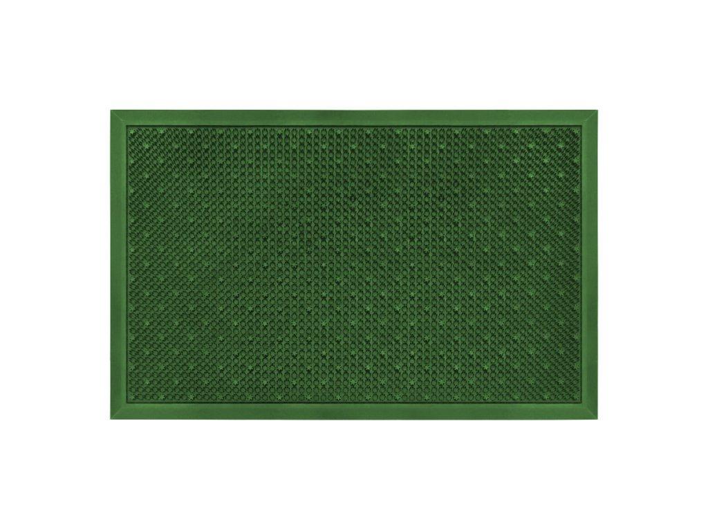 Rohož hrubá 48 x 76 cm - zelená