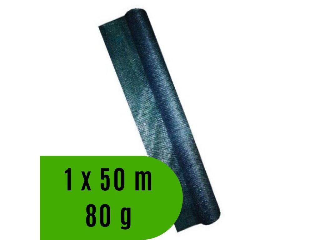 Síť tkaná krycí EXTRANET rozměr 1.0 x 50 m, 80 g / m2