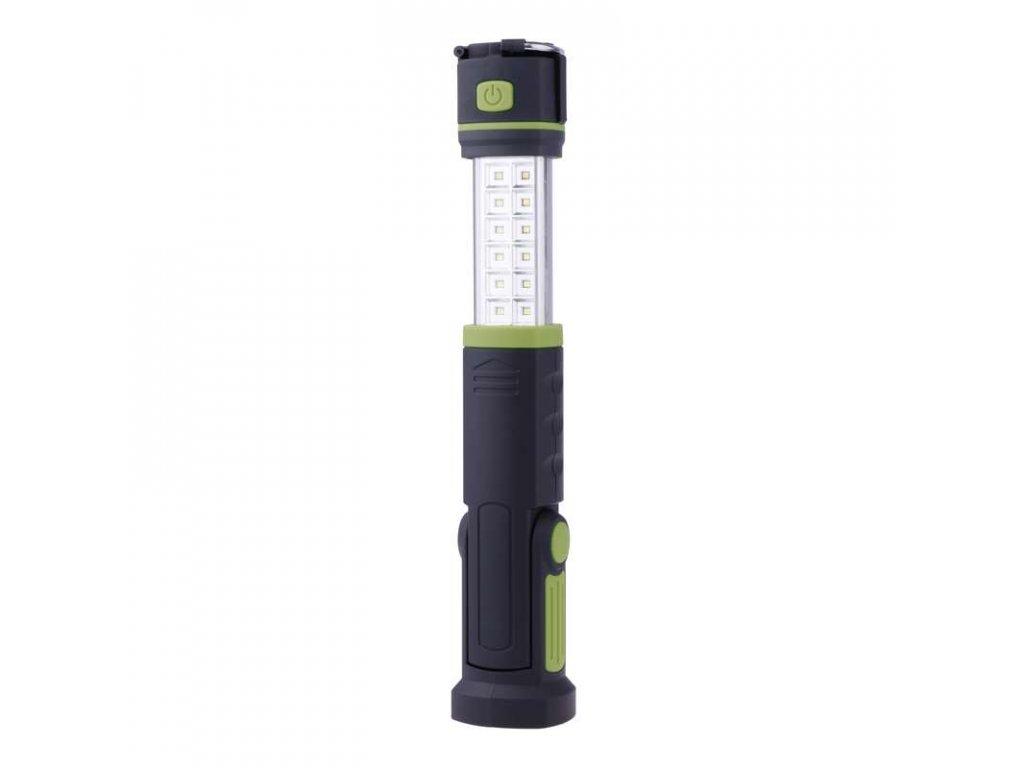 Nabíjecí svítilna LED E704, 12 SMD + 6x LED