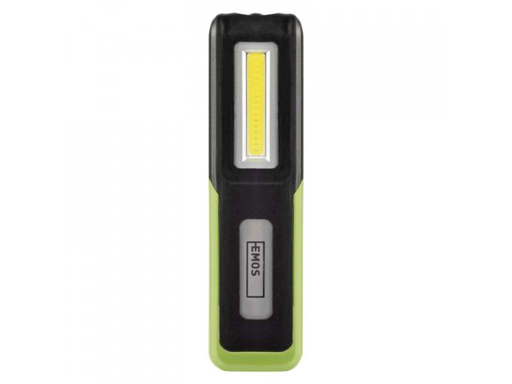 Nabíjecí svítilna LED P4530, 3 W COB + 3 W CREE