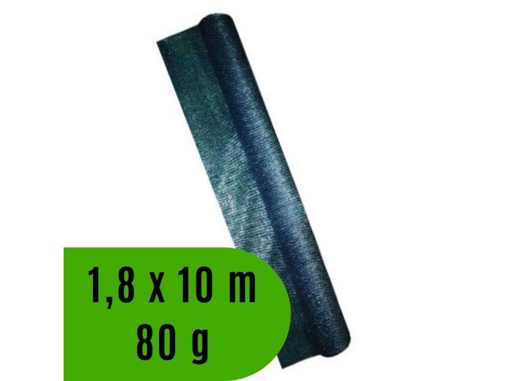 Síť tkaná krycí EXTRANET rozměr 1.8 x 10 m, 80 g / m2