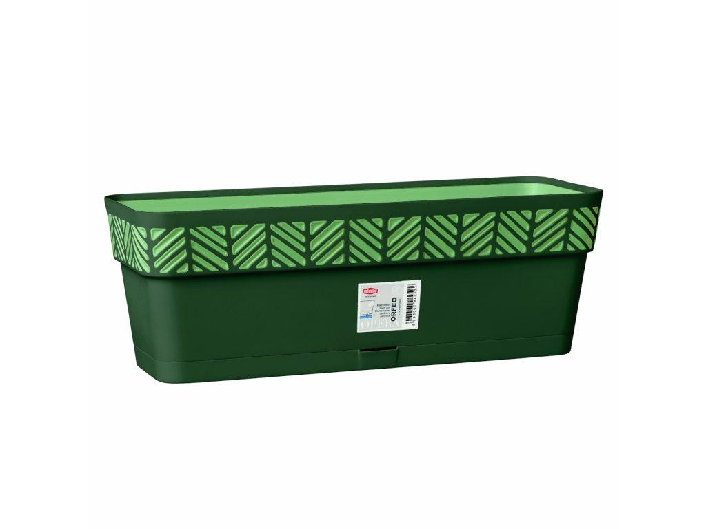 Truhlík plastový Opera ORFEO 50 cm - barva zelená