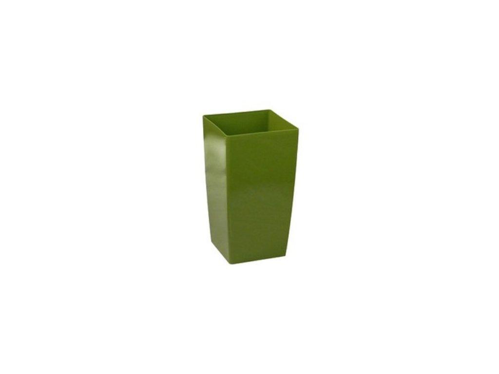Obal na květiny COUBI DUW 16x16 cm - barva zelená (olivová)