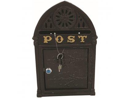 Poštovní schránka, plechová 35 x 21,5 x 8 cm