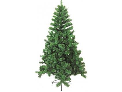 Strom umělý vánoční s kovovým stojanem 244 cm