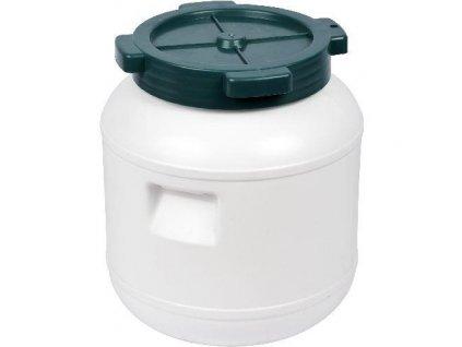 Plastový sud s víkem 10 litrů, Sud na zelí 10 L